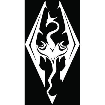 Amazon Skyrim Imperial Symbol Logo Die Cut Vinyl Decal Sticker