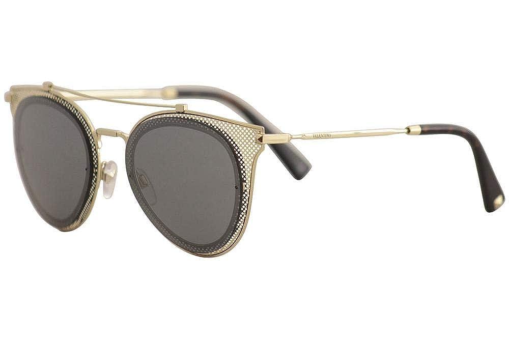 Valentino Mujer 0VA2019 30036G 53 Gafas de sol, Dorado ...
