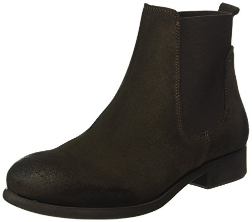 Pieces WoMen Psizi Suede Mocca Chelsea Boots Brown (Mocca)