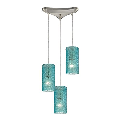 Ice Blue Pendant Lights