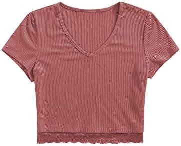 SweatyRocks Womens Sexy Ribbed Shirt product image