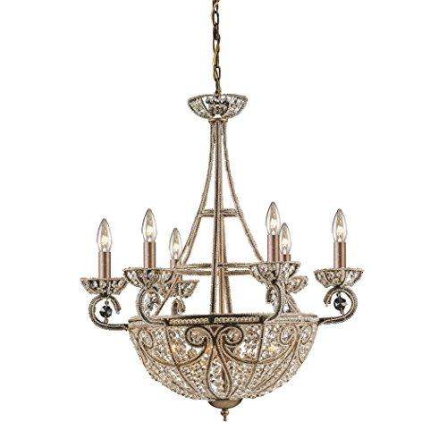 - Alumbrada Collection Elizabethan 10 Light Chandelier In Dark Bronze