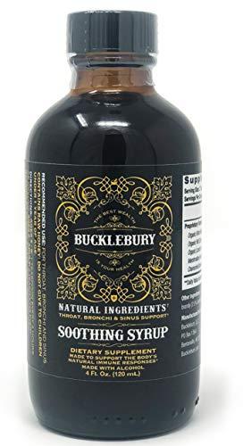 Bucklebury Soothing Syrup - Original Formula 4oz