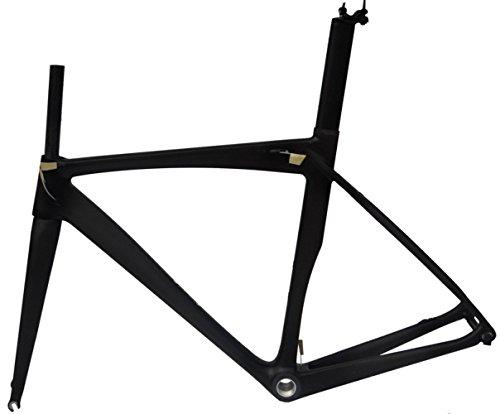 フルカーボンマット700 Cロードバイクサイクリングbb30フレームフォークシートポストクランプ54 cm B00MX2G3P4