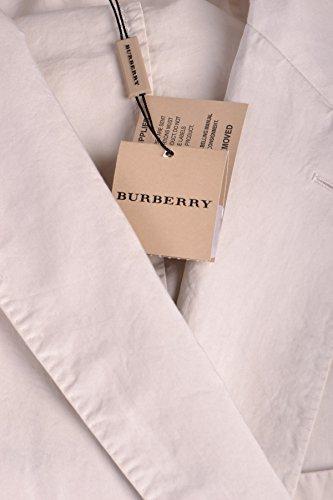 Burberry Blazer Uomo MCBI056043O Cotone Beige