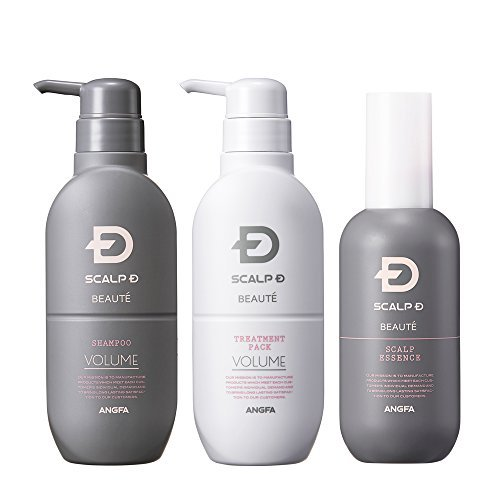 [Shampoo & Treatment Pack & Scalp Essence] Scalp D Beaute three-piece set by Anfa (ANGFA)