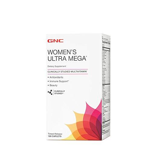 GNC Womens Ultra Mega 180 caplets