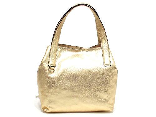 Coccinelle borsa donna, BE5 MILA,110201, borsa a spalla pelle, platino E8102
