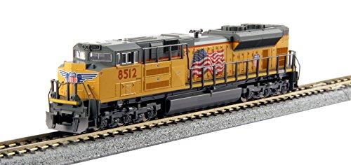 Kato USA Model Train Products N EMD #8512 SD70ACe Union Pacific (Union Pacific Locomotive)
