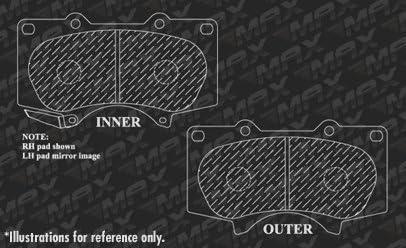 Fits: 2010 10 2011 11 2012 12 2013 13 Lexus GX460 OE Series Rotors + Ceramic Pads KT147743 Max Brakes Front /& Rear Premium Brake Kit