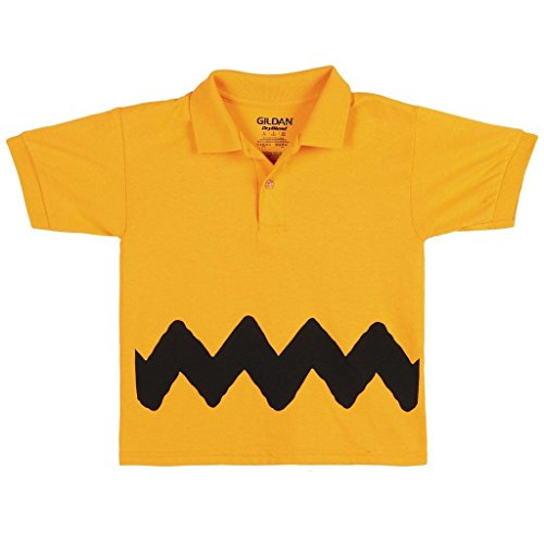 Peanuts I Am Charlie Brown Youth Polo - Yellow (5/6)