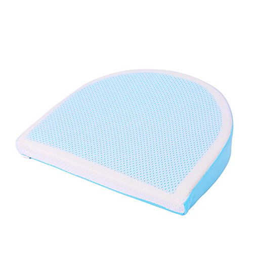 Cool Maternity Pillow Memory Foam Wedge with Cooling Gel for Pregnancy Belly Support and Back Support by AkejuComfort by AkejuComfort (Image #1)