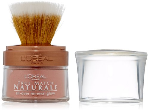 L'Oreal Paris True Match Naturale All Over Mineral Glow, Rose Glow, 0.15 Ounces