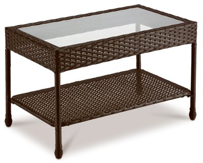CREATIVE COURTYARDS INT 16S7301S-V FS Sunset Wicker Table by CREATIVE COURTYARDS INT