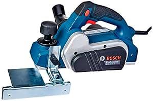 Plaina GHO 16-82 D 127V, Bosch 06015A40D0-000, Azul