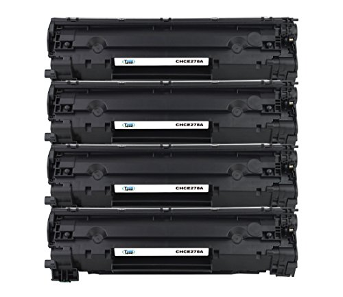 Cool Toner Compatible Toner Cartridge Replacement for Canon 128 3500B001 (Black, 4-Pack)