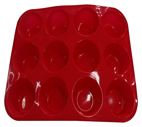 Silicon Silicone (Non Stick Silicone Muffin Pan Molds for Baking Cupcakes)