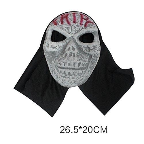 Halloween Party Decoration/Horror mask headgear/Devil Mask-A (Scary Maska)