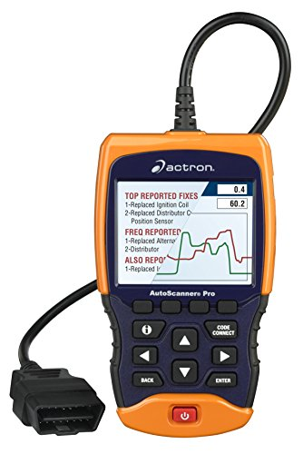 Actron CP9695 AUTOSCANNER Pro Plus Codeconnect with ABS and Airbag Coverage, 1 Pack