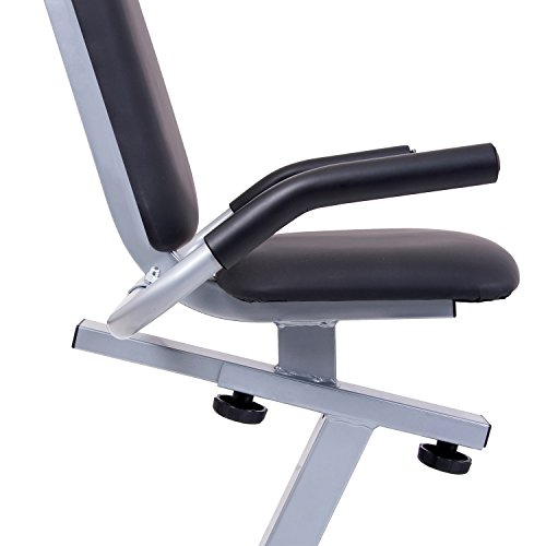 Body Champ Magnetic Recumbent Exercise Bike with Computer Program, Pulse and Resistance / Reclined Seat Back Support by Body Champ (Image #5)