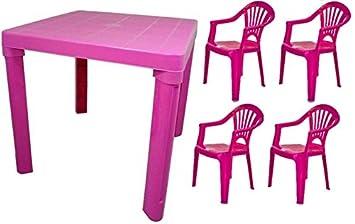 A2Z Ensemble Table et chaises pour Enfants Plastique coloré Chambre ...