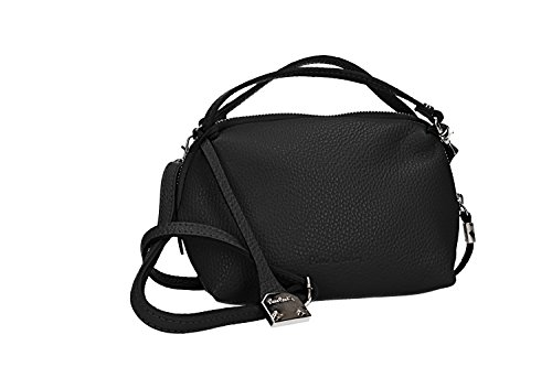 PIERRE Italy woman Shoulder VN2279 black bag mini Made CARDIN leather in in qHSSTtwBf