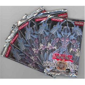 Yu-Gi-Oh Cards - Shadow of Infinity - Booster Packs ( 5 Pack Lot ) by Yu-Gi-Oh!