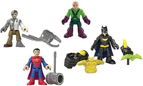 Fisher-Price Imaginext DC Super Friends DC Super Heroes & Villains Playset ()