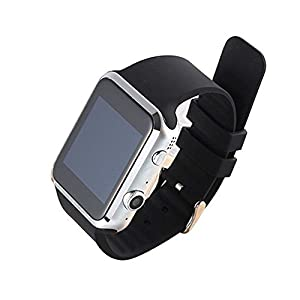 PowerLead Pwah A9S Bluetooth Smart Watch For Apple iPhone IOS & Android Smart Phone with tRate Detect Lower Blood Pressure and Blood Lipid 2 Million Camera Support Gsm / Gprs 850/900/1800/1900 Black