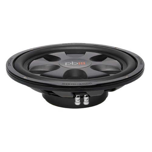 Powerbass S12T 12-Inch Single 4 Ohm Thin Subwoofer by PowerBass