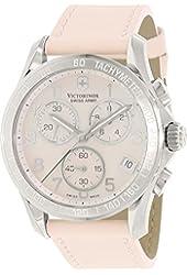 Victorinox Swiss Army Chrono Classic Mother of Pearl Women's Quartz Watch 241419