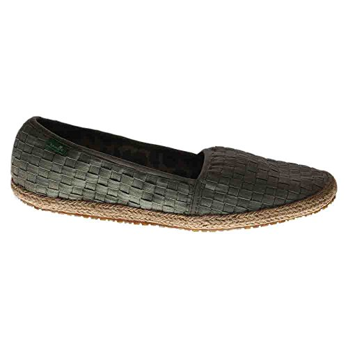 Sanuk Womens Basket Case Loafer Olive Khaki