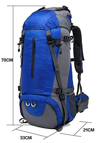 Sport NB Antipioggia Campeggio Aperta Escursionismo Zaino Green Trekking All'aria Borsa Viaggio Zaino In XZW Da Copertura Alpinismo Axqww