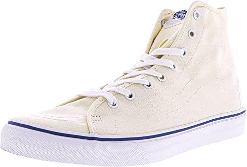 Zapatillas De Deporte Vans Mujeres Sk8-hi Decon Hight Top Lace Up Classic Blanco / Blanco Verdadero