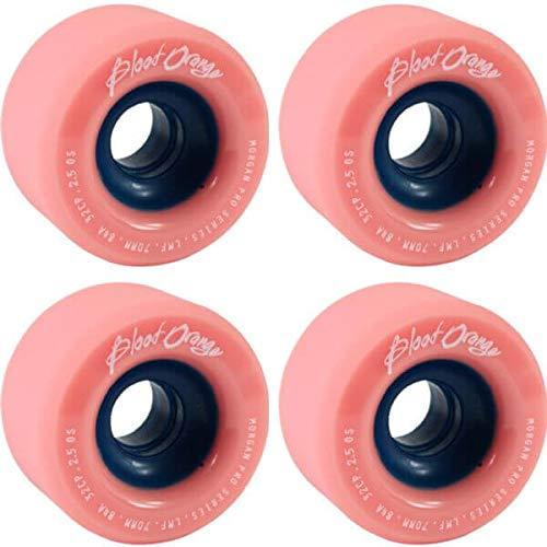 決済寝室アブストラクトブラッドオレンジLiam MorganモーガンシリーズコーラルLongboard Skateboard Wheels – 70 mm 84 a ( Set of 4 )