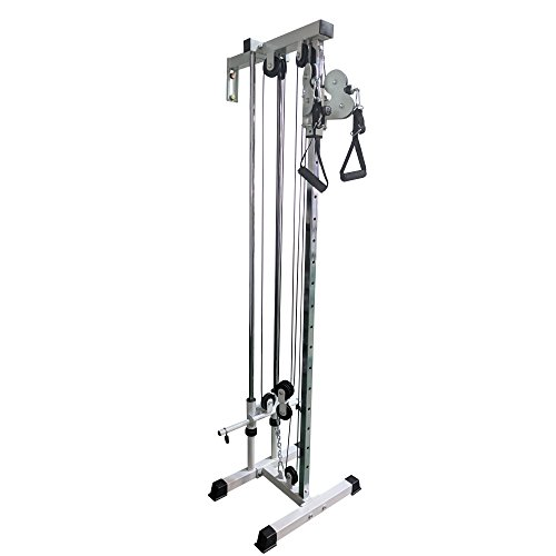 Titan Wall Mounted Short Pulley Tower by Titan Fitness
