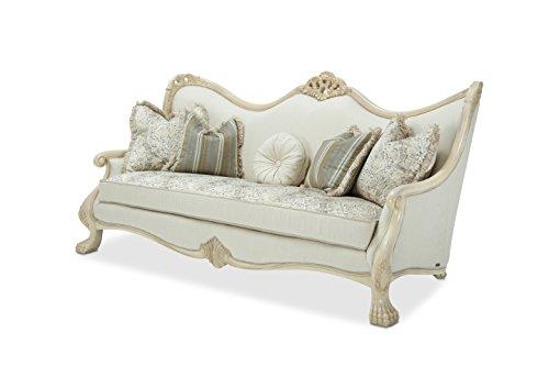 Michael Amini 9052815-ALBST-04 Chateau de Lago Wood Trim Sofa, (Aico Furniture)
