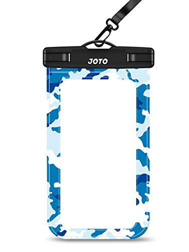 Waterproof Case, JOTO Cellphone Waterproof Dry Bag Pouch Case for Apple iPhone 6S 6,6S Plus, SE 5S 7, Samsung Galaxy S7 S6, Note 5 4, HTC LG Sony Nokia Motorola up to 6.0