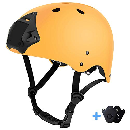 ipoob Adult Water Sports Helmet with Go Pro Mount Plate