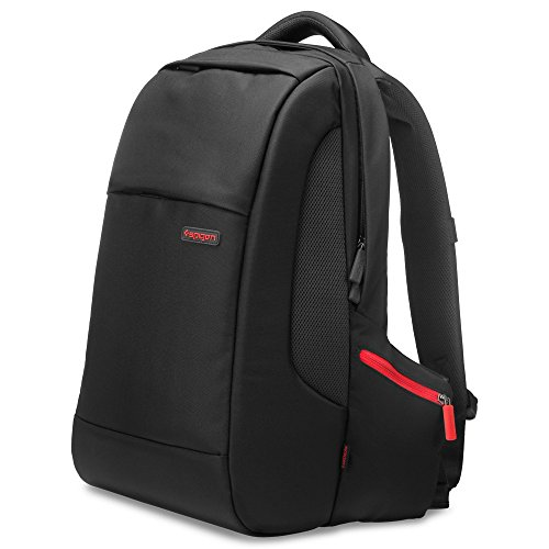 Spigen Klasden 3 Backpack with Water Resistant Coating and 15 inch Laptop Compatibility for All Laptops up to 15 inches - Black