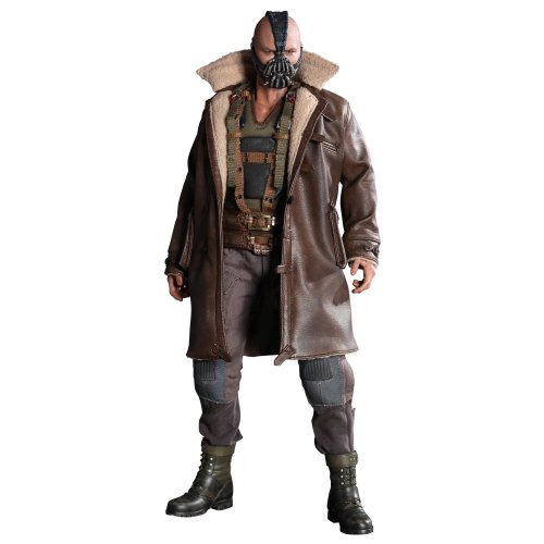 [Hot Toys - Bane 1/6 Scale Action Figure Batman The Dark Knight Rises Movie Masterpiece] (Easy Pop Culture Costumes)