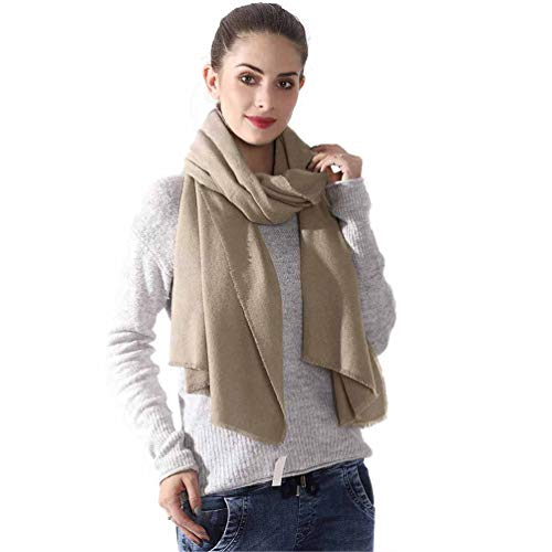 Scarves Cashmere Feel Pashmina Shawls Wraps Solid Color Light Scarf