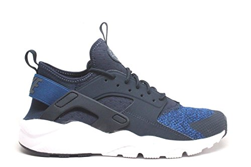 Nike Air Huarache Run Ultra SE Obsidian/Gym Blue-Cool Grey (Big Kid) (6 M US Big Kid) by NIKE
