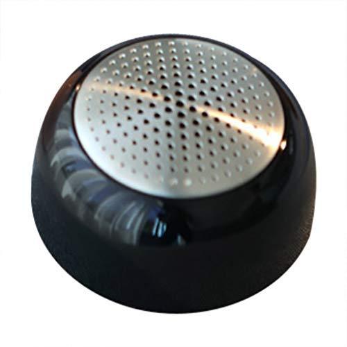 Tpingfe Portable Wireless Metal Bluetooth Speaker Wireless Bass Mini Speaker (Black)