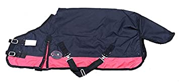 Cwell Equine New Mini Lightweight Turnout Shetland Rug Pony Rug Foal Rug No Fill Choice of Sizes /& Colors 4 feet 6 inches, Navy