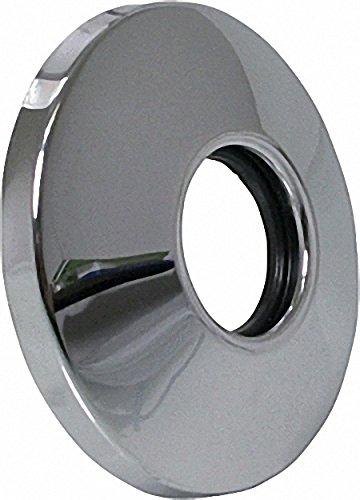 TECO Schubrosette fü r UP-Ventil verchromt 70mm Durchmesser