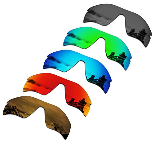 123bc0c557 SmartVLT Set of 5 Men s Replacement Lenses for Oakley Radar Path Sunglass  Combo Pack S02