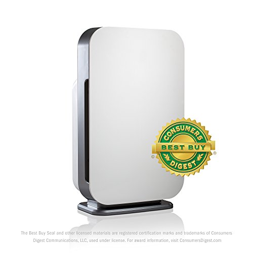 Alen BreatheSmart Flex Air Purifier for Bedrooms & Living Rooms - HEPA Filter for Pet Dander & Odor - 700 sqft - White
