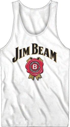 Jim Beam Whiskey Men's Tank Top : White Medal-XXL