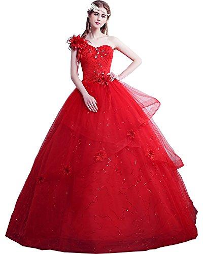 Abendkleider E Hochzeitskleider Stil Lang Hochwertig Blumen Tuell Ivydressing Brautkleider YSPqzvP